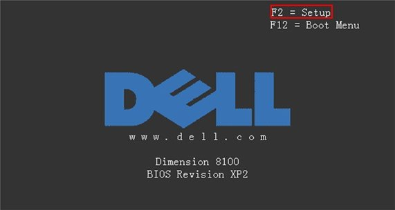 dell boot up1