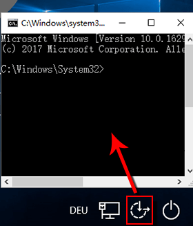 Windows 10 Passwort vergessen_cmd Befehele
