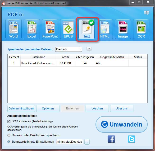 PDF in Text umwandeln