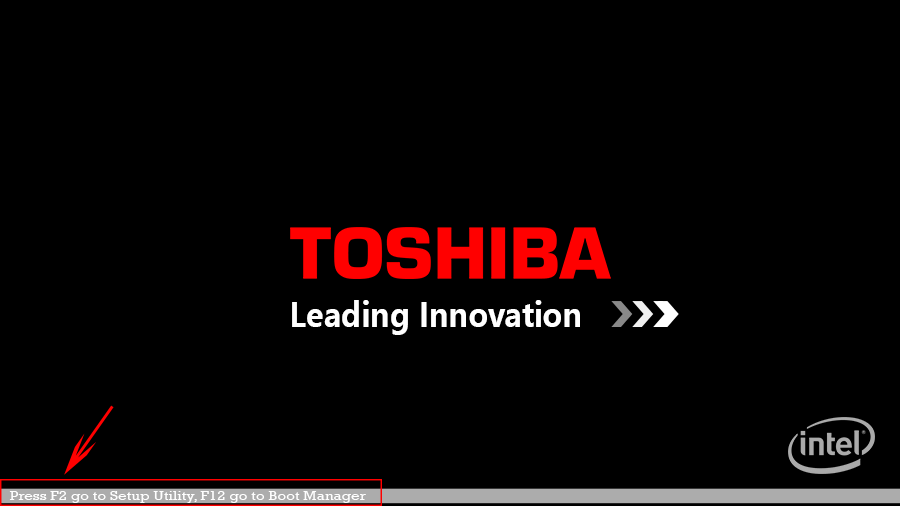 Toshiba Laptop öffnen
