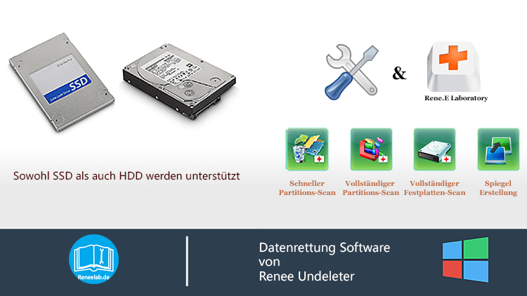 Datenrettung Software Renee Undeleter