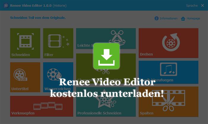 Renee Video Editor herunterladen