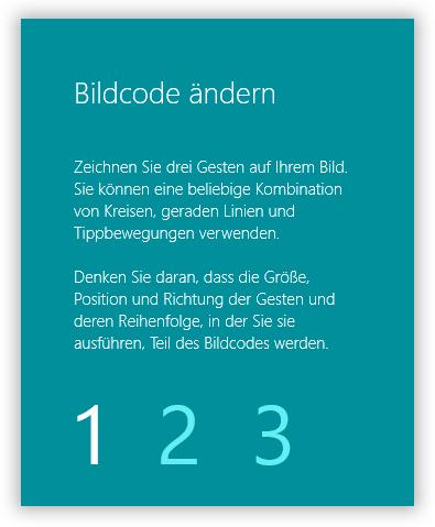 Bildcode von Windows 10 Passwrot ändern-2