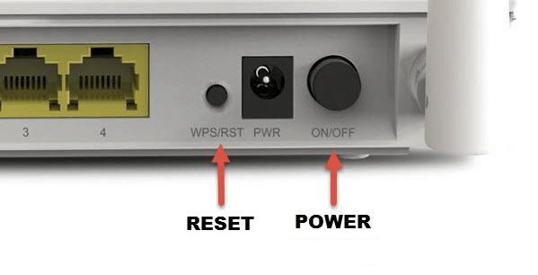 Modem und Router zurücksetzen