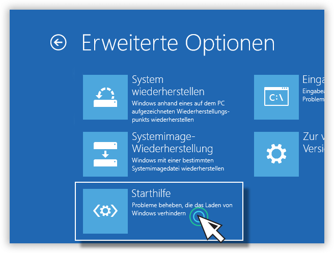 Windows 10 Installationsmedium - Starthilfe
