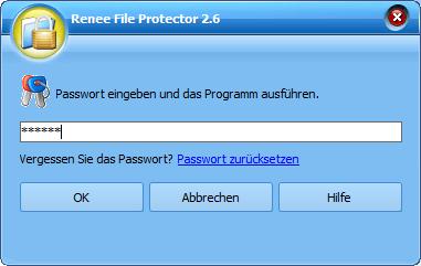 Renee File Protector ausführen