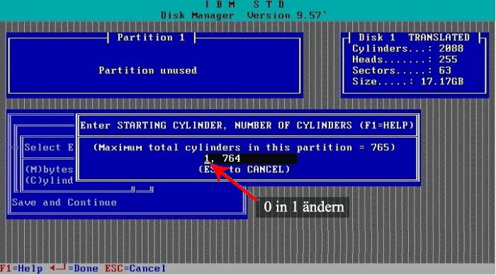 Disk Manager von IBM