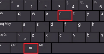 keyboard-win+r