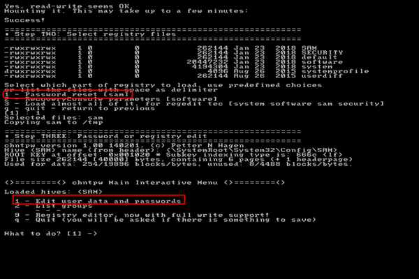 Windows Passwort entfernen