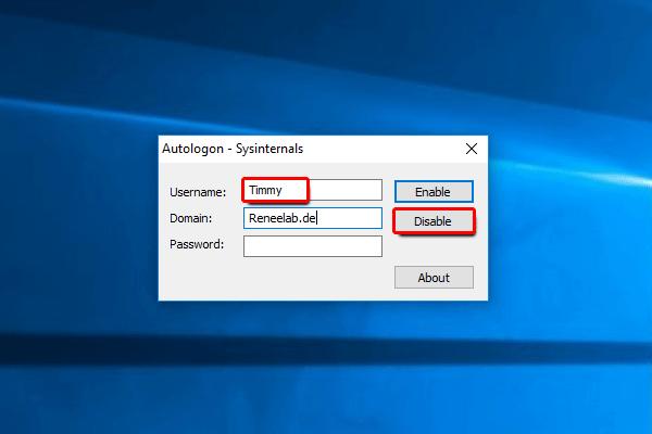 Anleitung: Windows 10 automatische Anmeldung deaktivieren