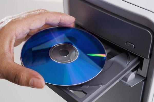 CD einstecken