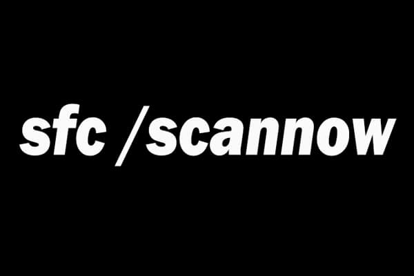 sfc scannow