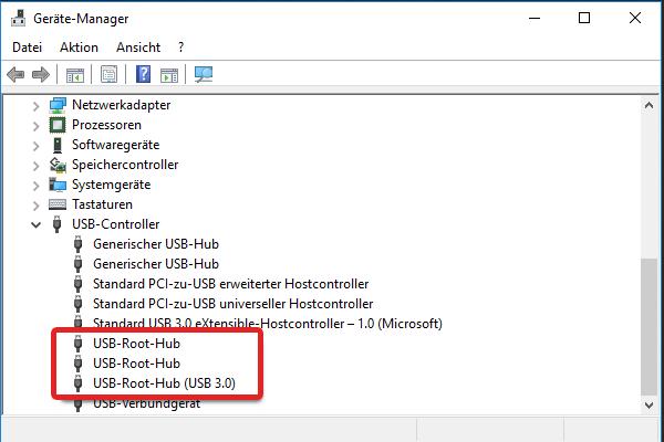 7. USB Root Hub
