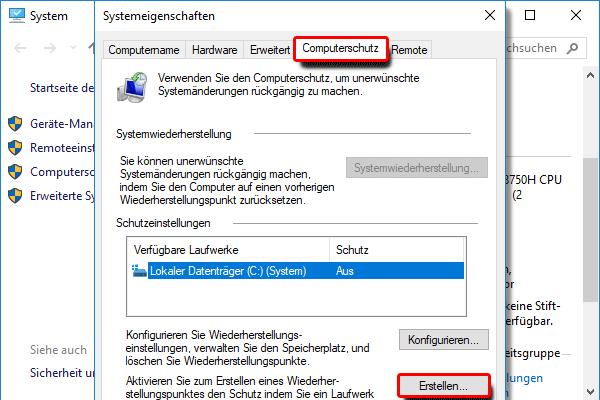 4.Systemeigenschaften_Computerschutz_Erstellen