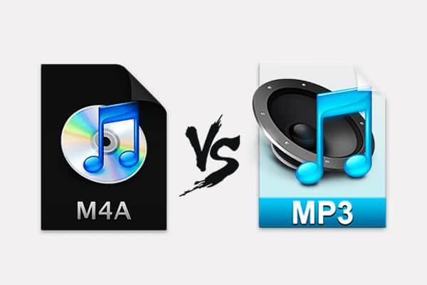 Unterschied zwischen M4A und MP3
