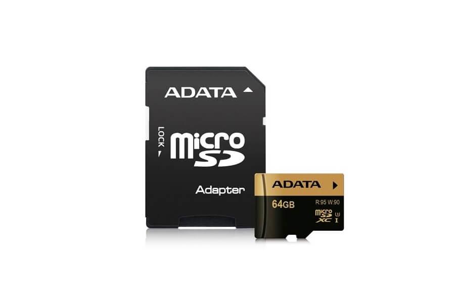 Nintendo Switch Speicherkarte: ADATA 64GB U3 Micro SDXC