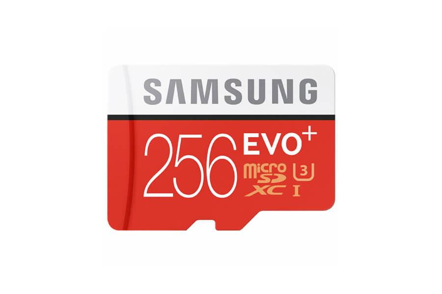 Nintendo Switch Speicherkarte: Samsung EVO Plus 256GB