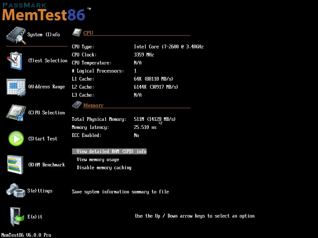 MemTest86 laden