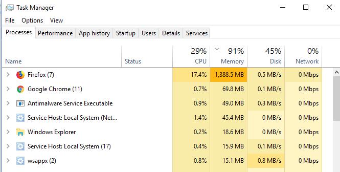 test von Firefox und Chrome