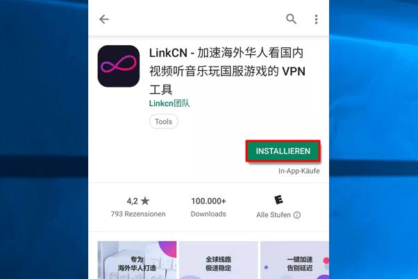 LinkCN runterladen