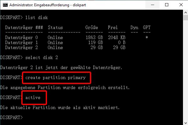 CHKDSK ist für RAW Laufwerke nicht verfügbar: reparieren